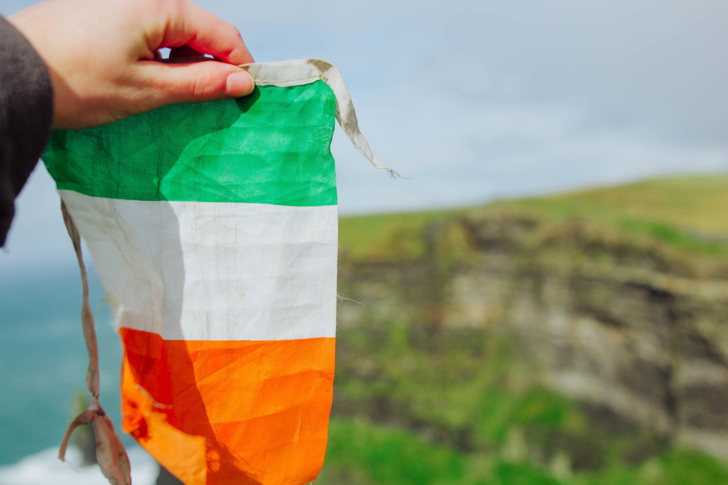 Yay Ireland and acquired flags.