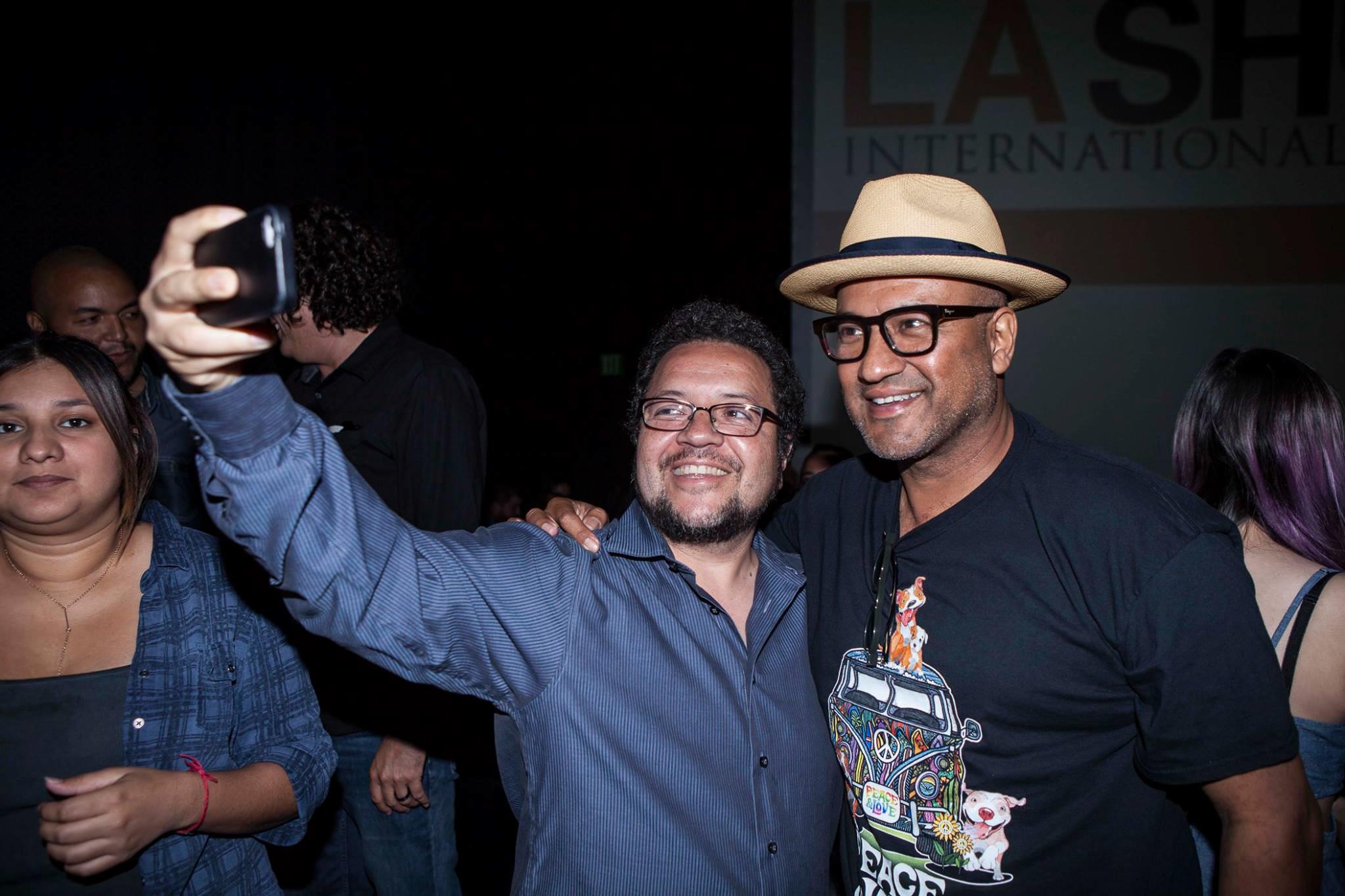 Juan Escobedo and Mario Cortez - Marisol Film at LA Short