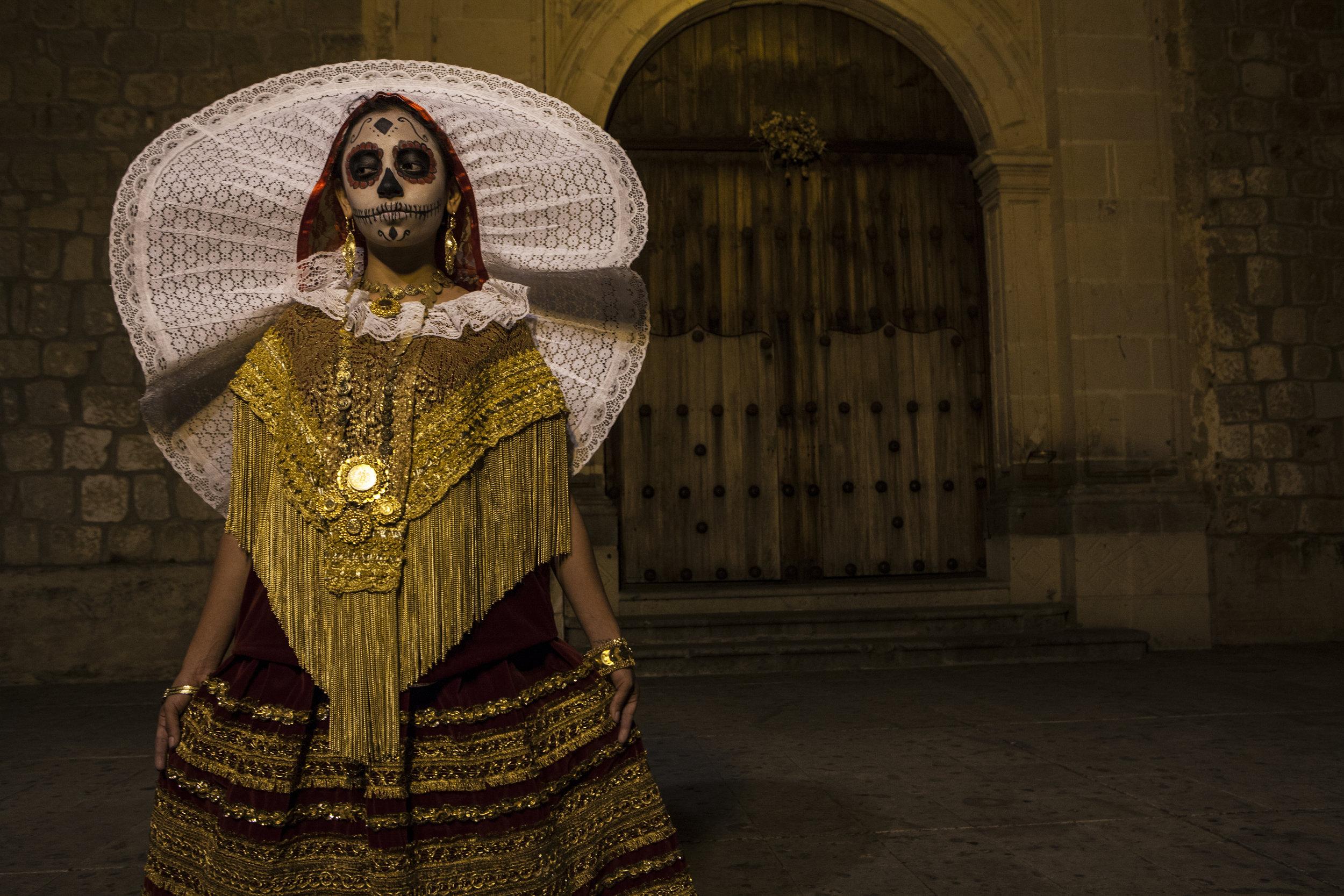 Juan Escobedo, La Muertita de Oro, Digital Photography.jpg