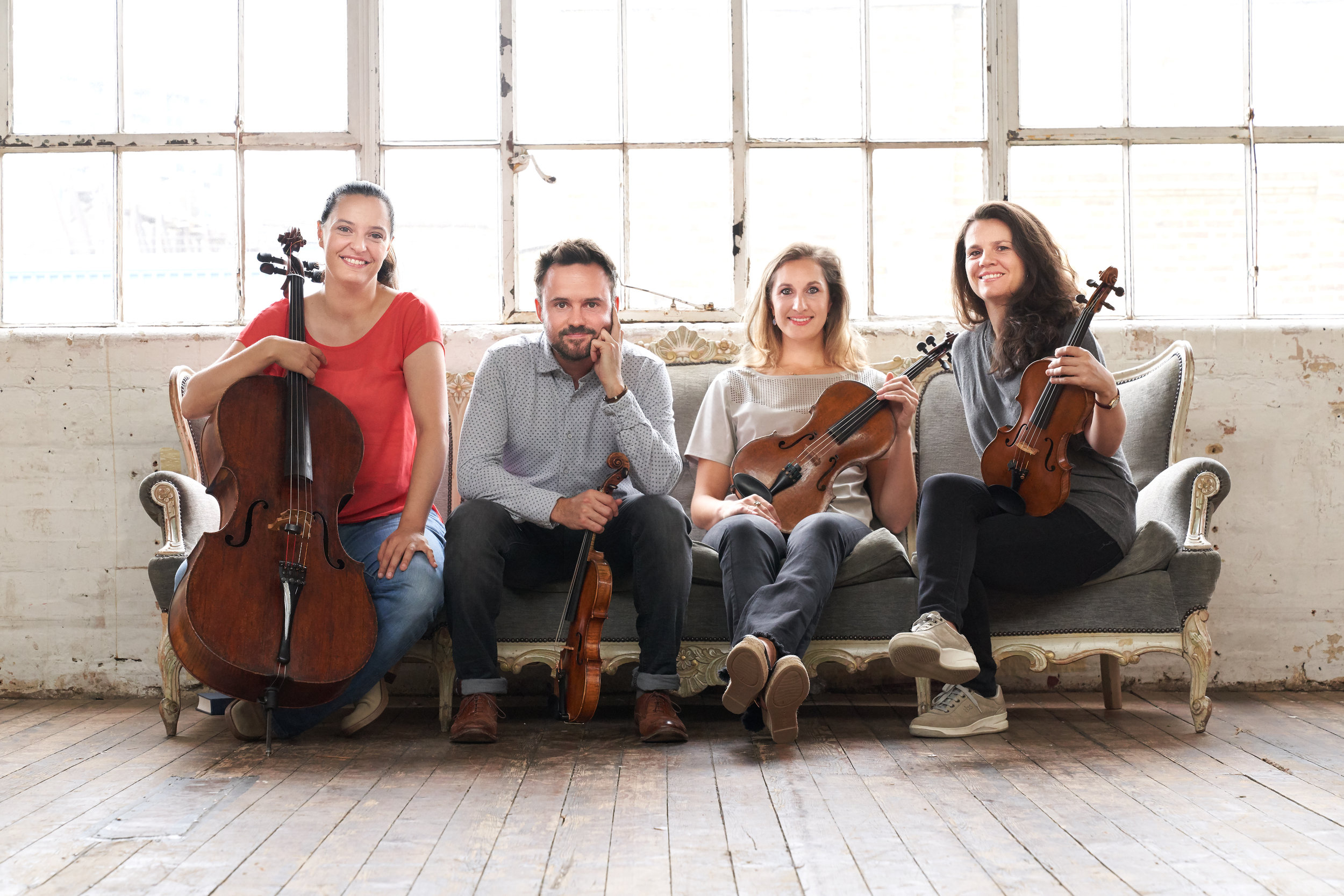 Thursday, 17th October - Elias String Quartethttps://eliasstringquartet.comHindson: String Quartet No.2Schubert: String Quartet No.13 in A minor D804 RosamundeSileas Na Ceapaich: Tha mi am chadal na duisgibh mi arr. Grant