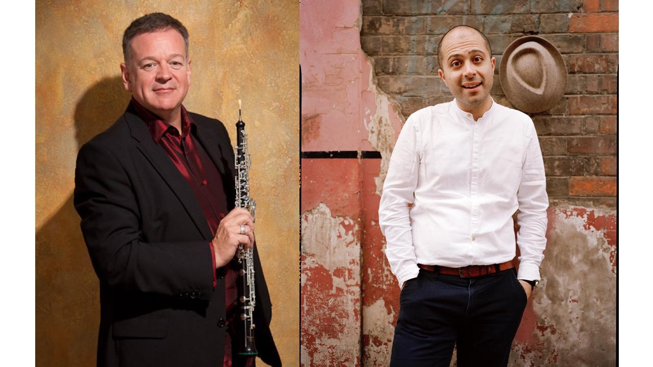Thursday, 6th February - Nicholas Daniel - oboe & Mahan Esfahani - harpsichordhttp://nicholasdaniel.co.ukhttps://www.mahanesfahani.comMaconchy: BagatellesCouperin: 14ème Concert RoyalKoch: Die Frage nach der Dinglichkeit (world première)