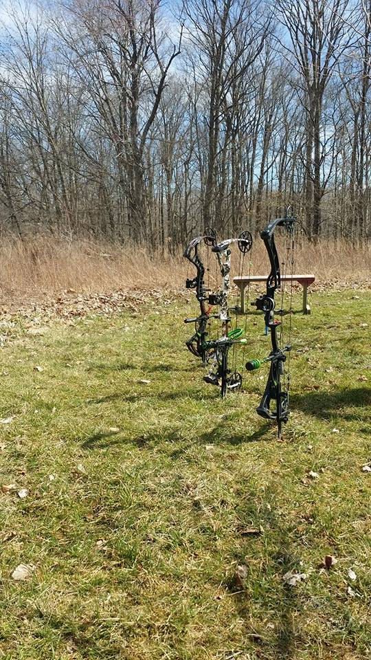 Never lay your bow on the ground again. Thanks again to the guys with bow dagger!!! -Aaron S.