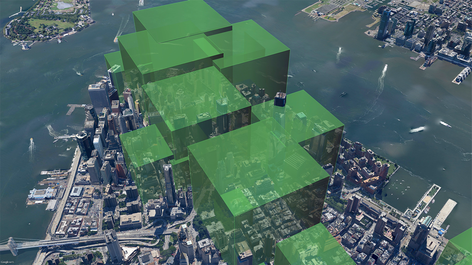 Daily PM2.5 emissions from buildings in Lower Manhattan BEFORE conversion