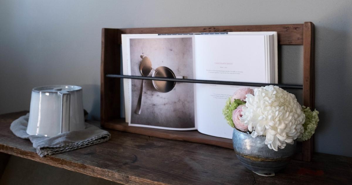 Elegant Arrangement and Bookshelf