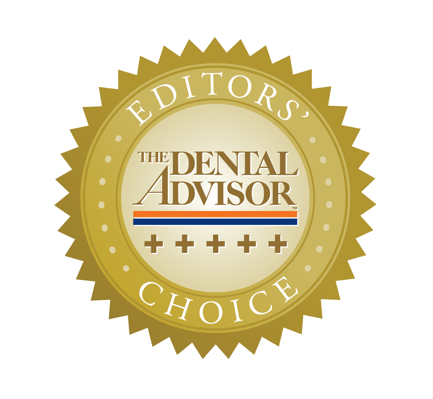 Dental Advisor Editors Choice 5 Plus Awards