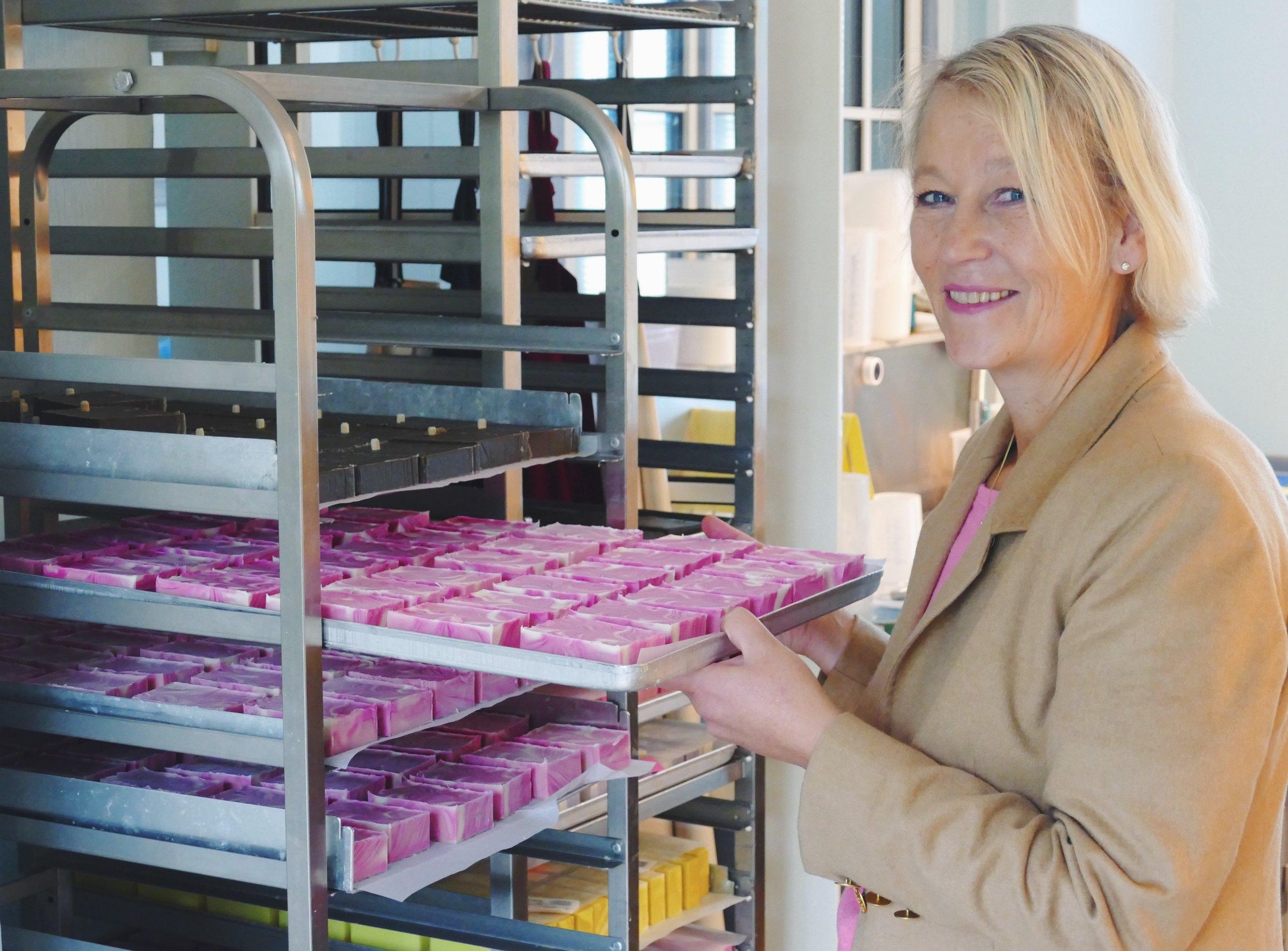 Waschechte Insulanerin Kirsten Deppe.