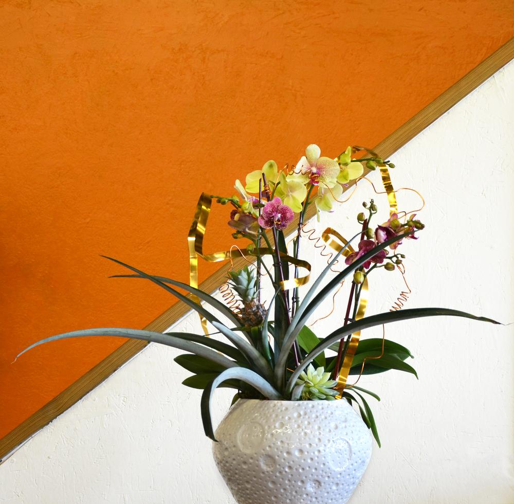 Harding Botanicals Orchid bowl