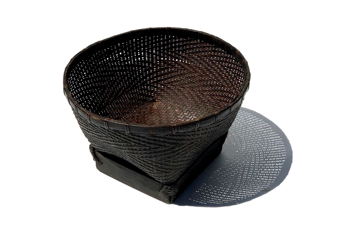 Finely Woven Small Collecting Basket