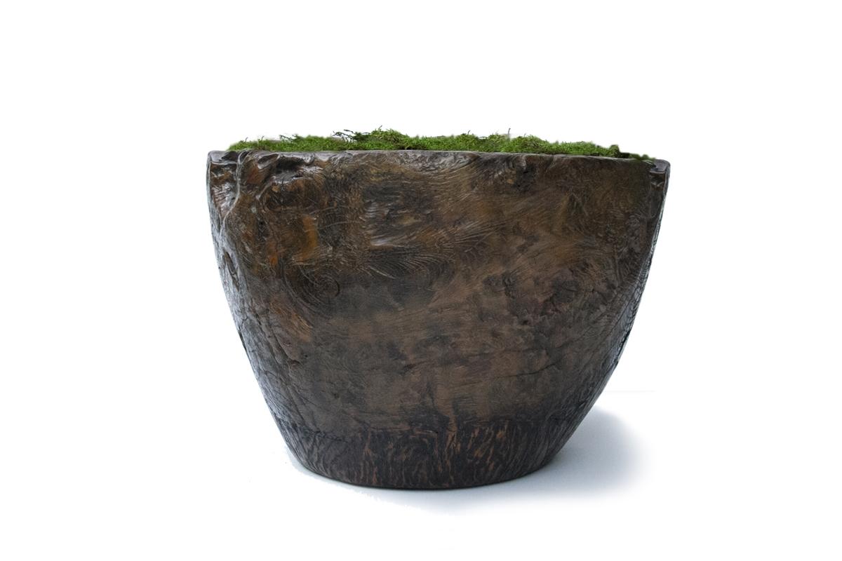 Antique Granary Mortar Bowl II