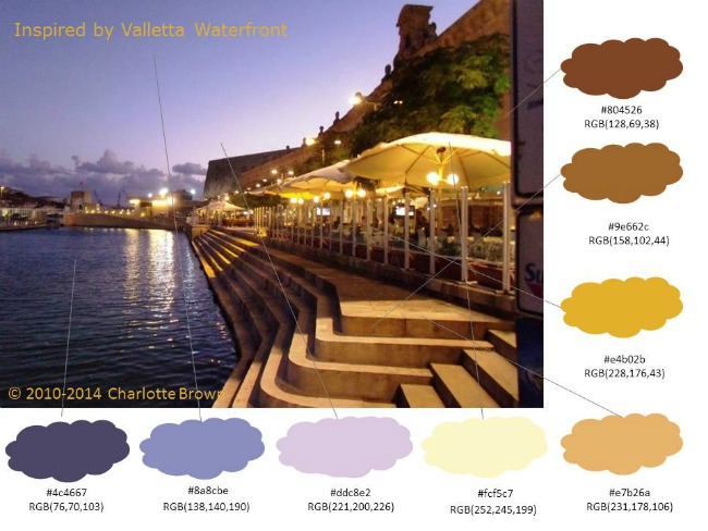 Inspired by Valletta waterfront in Malta (on our honeymoon!)
