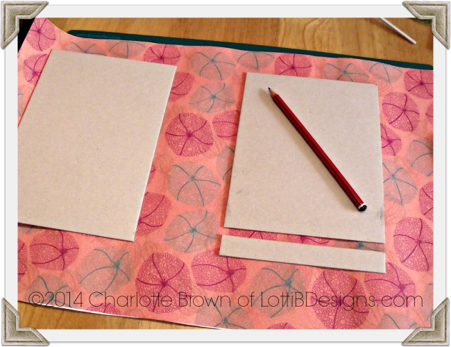Layout your covers on your chosen cover paper
