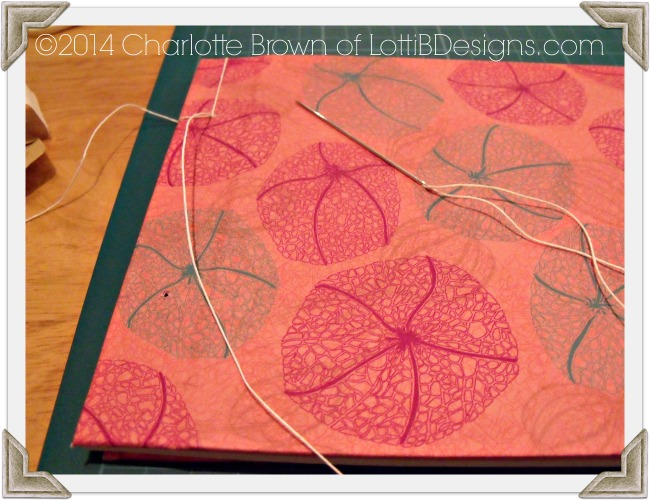 Sewing together your book is actually not as complicated as it looks!