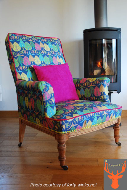 Upholstered by Rebecca at forty-winks.net