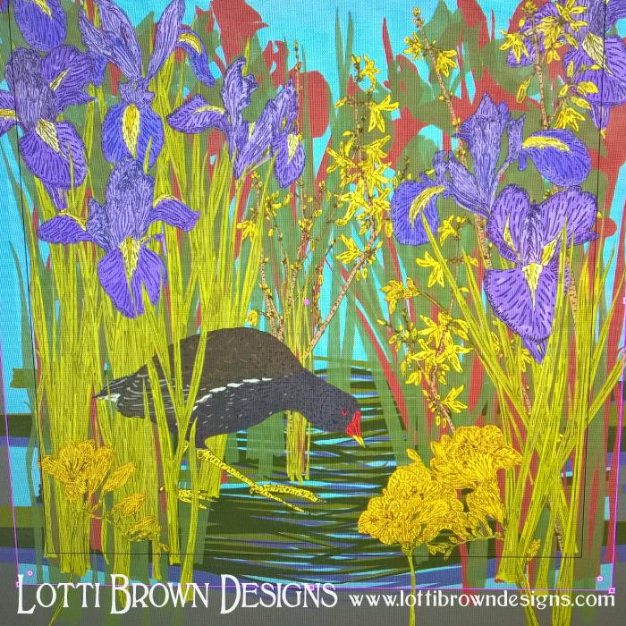 colour-changes-digital-art-flowers-bird