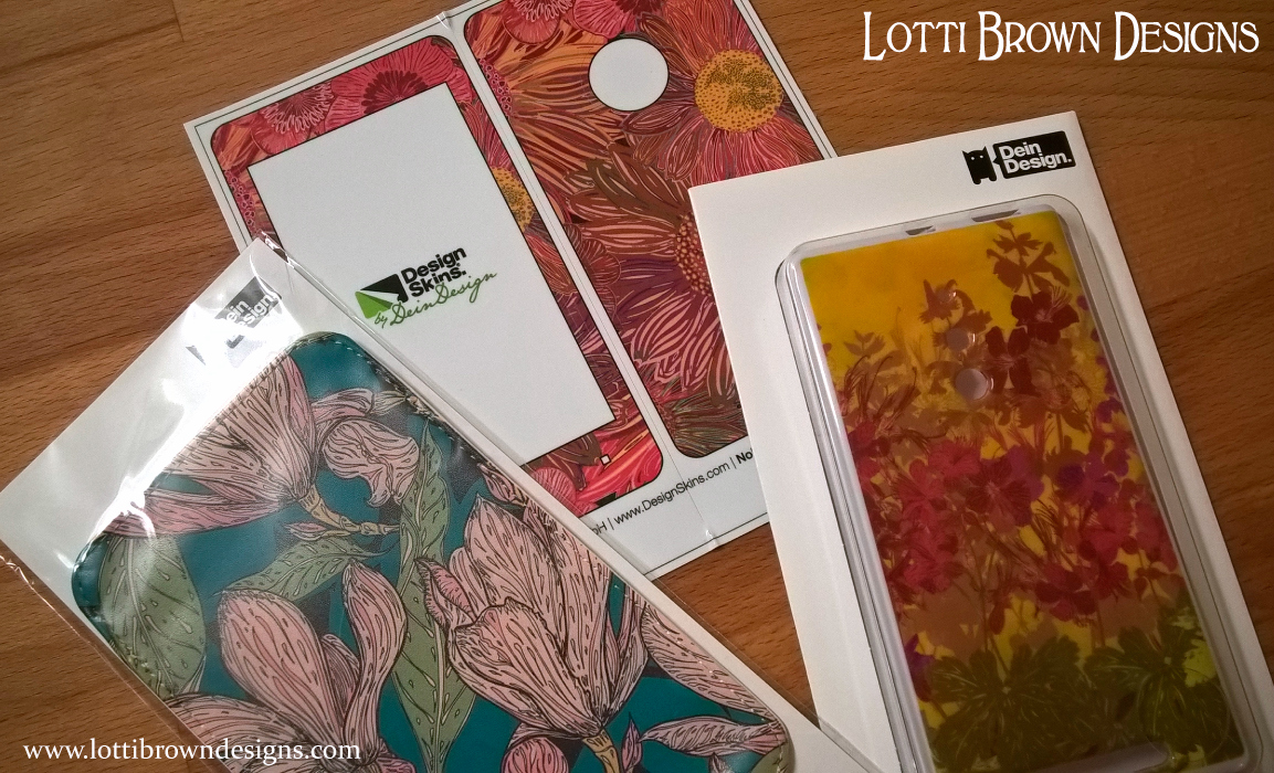 DeinDesign - Phone and tech-cases - whatever your make of phone/tablet you are sure to find the case or skin you've been after.Delivers internationally from Europe.Click Here to Browse Lotti Brown at DeinDesign...