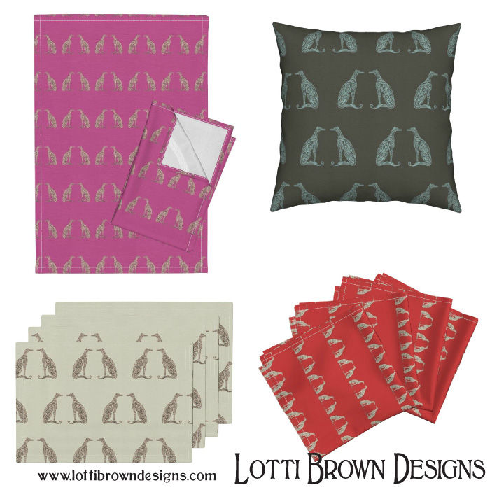 Greyhound patterns at Roostery
