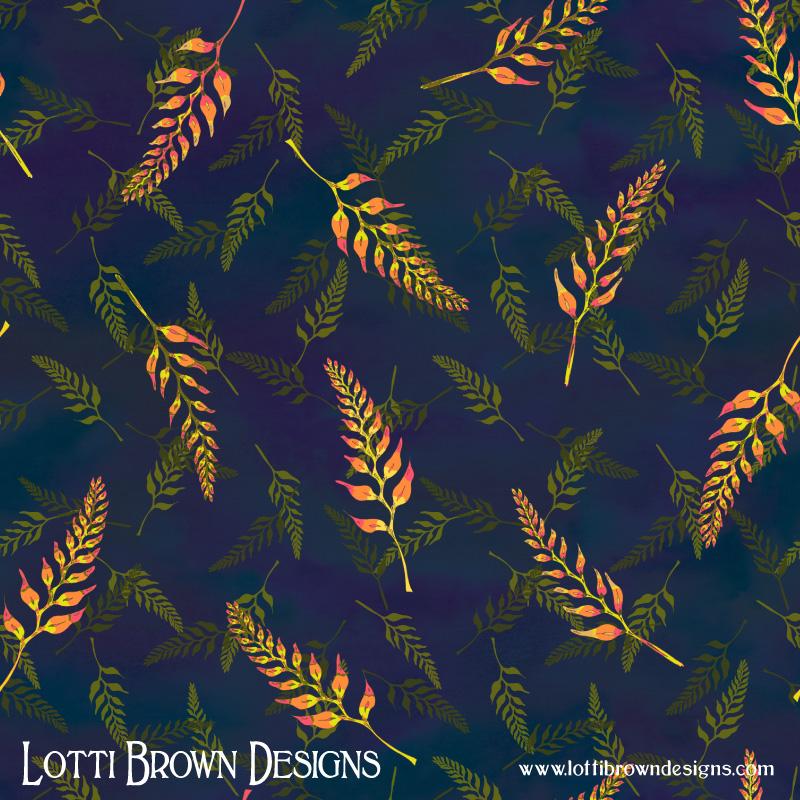 Tropical Bud Pattern 1
