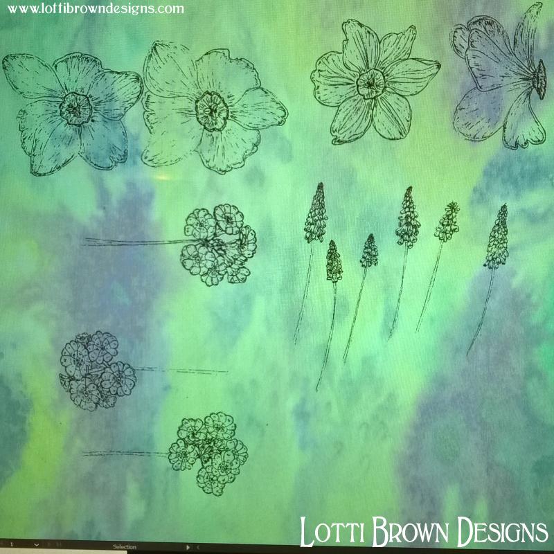 Digitised drawings