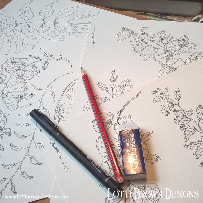 Starting to draw