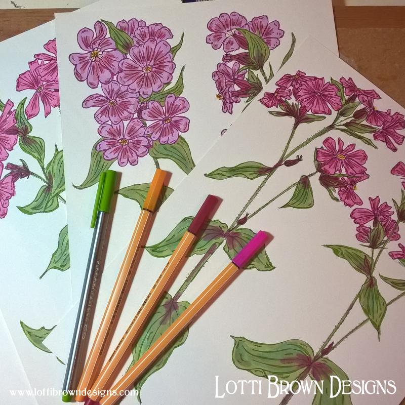 Adding colour detail