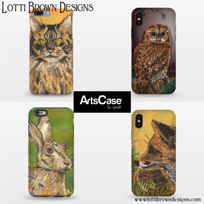 Artscase.com - Tough-fit and slim-fit phone cases for iPhone (5 and up) and Galaxy S7/8Delivers internationally from USAClick Here to Browse Lotti Brown at ArtsCase.com...