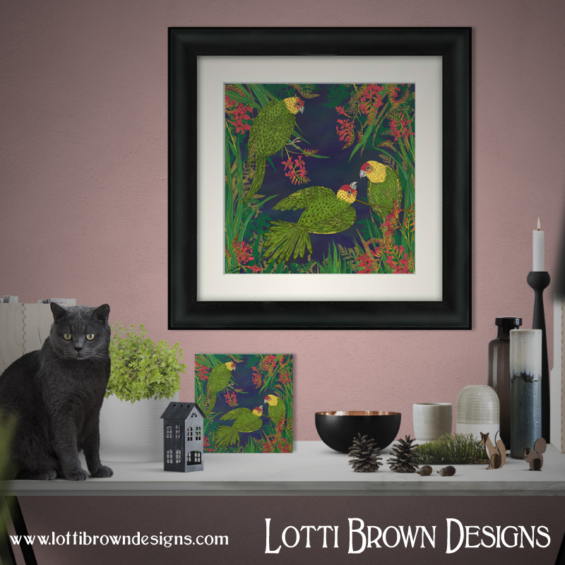 Framed and unframed art prints available from my online art store