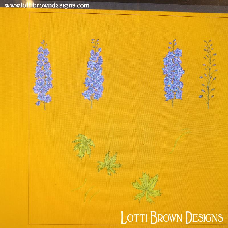 Digitising the drawings