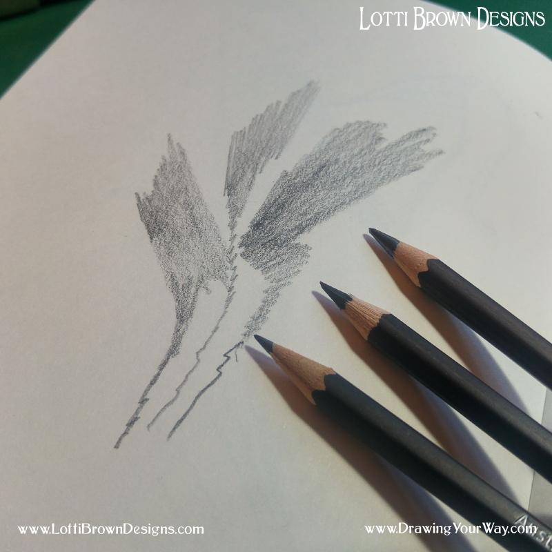 Soft pencil shading