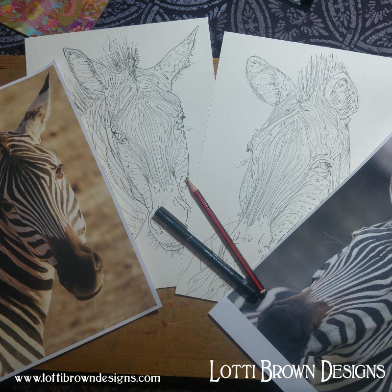 Zebras from photos