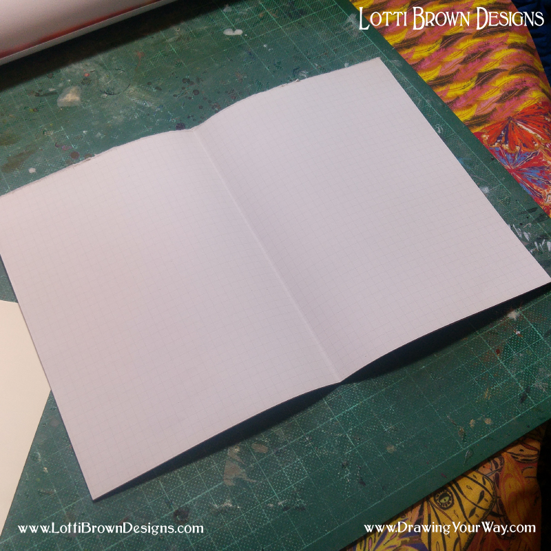 Fold your pages in half