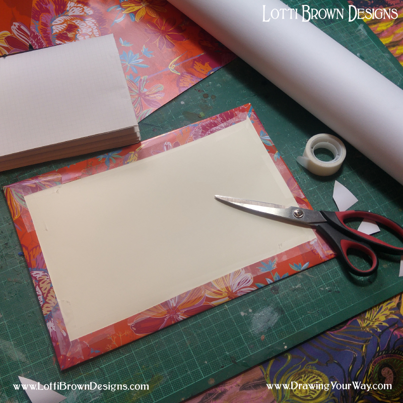 Cover thin card to make the cover
