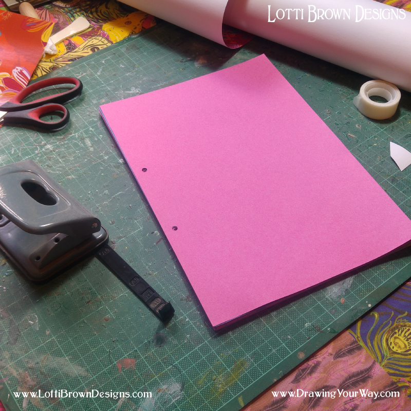 Hole-punch your pages