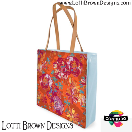 Carnation Carnival bag by Lotti Brown at Contrado