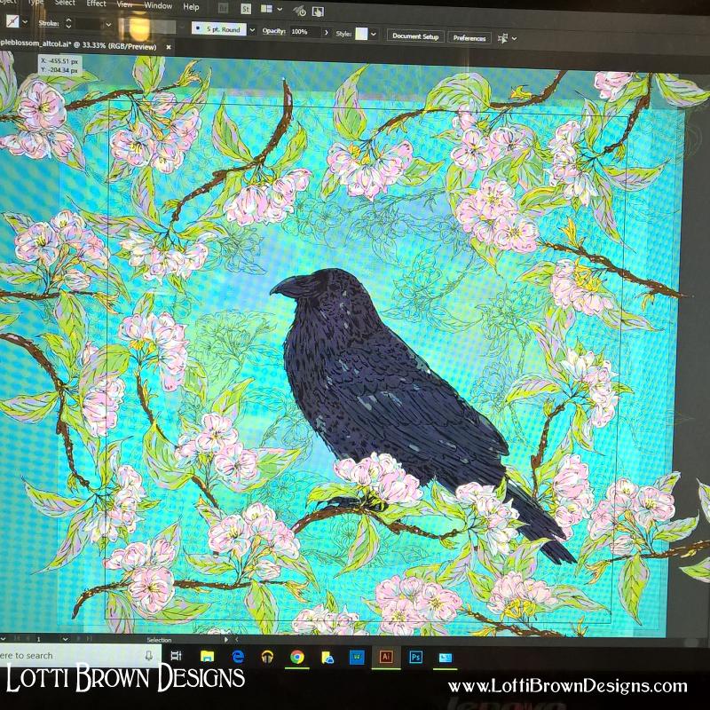 Adding background detail