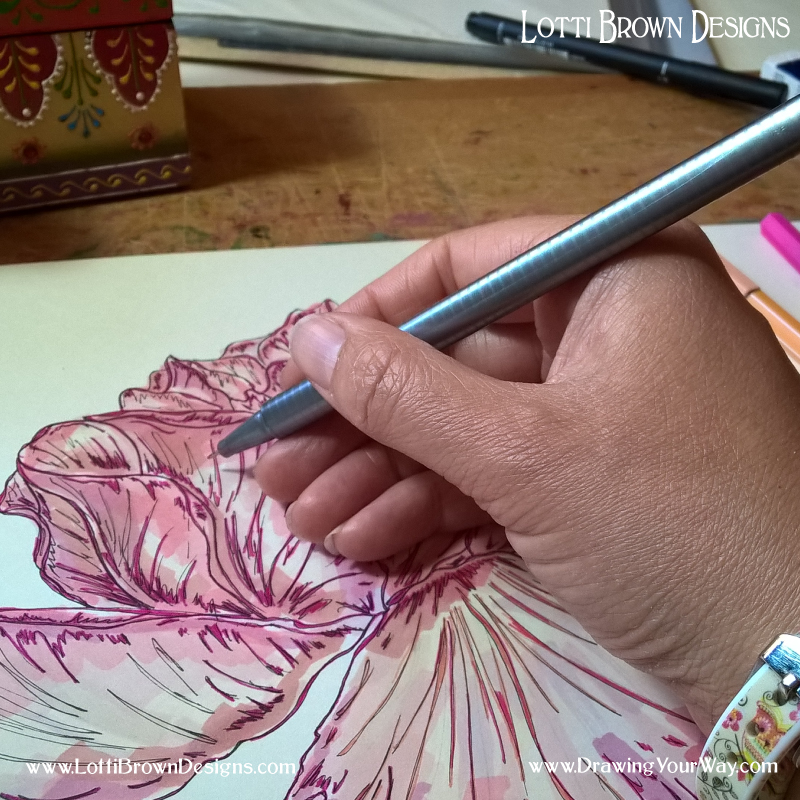 Learn creative drawing skills for more fulfilling and enjoyable art…