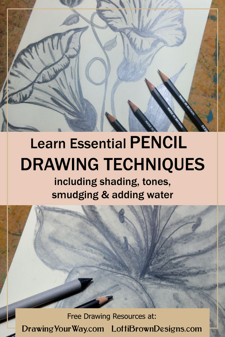 Expand your drawing repertoire with these useful pencil drawing techniques…