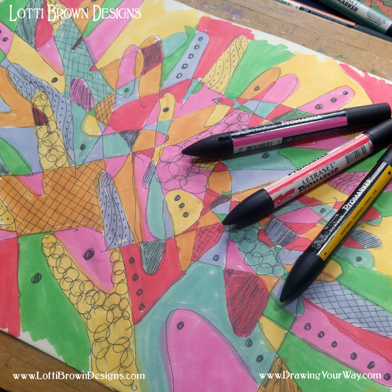 Drawing differently!!! Want to know what it's all about? Sign up for my fun drawing challenge below…