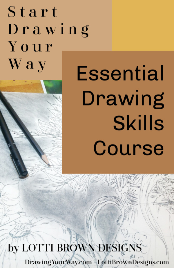 Start a new drawing hobby or reconnect with old skills…