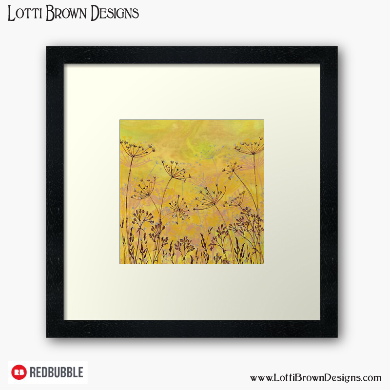 Framed and unframed fine art prints also available in my Lotti Brown redbubble store - click to see…