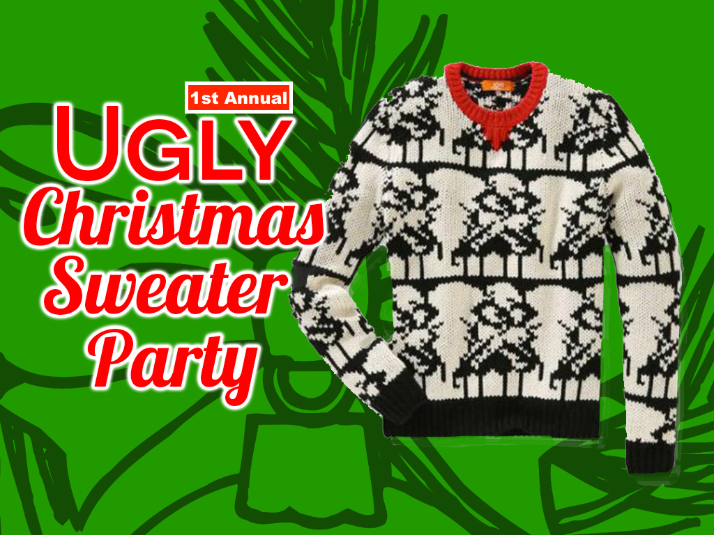 The Ugly Christmas Sweater Party MS & HS Students wear the ugliest sweater they can find (or MAKE!) For a chance to take Home The Title of 2017's Ugliest Sweater. We'll have food & games! We ask everyone to bring a $5 gift for the gift exchange. Invite your friends!