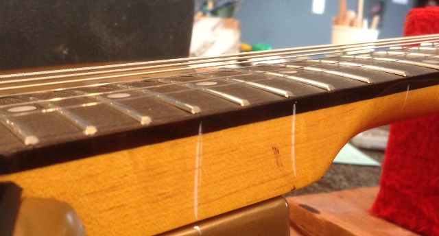 Check out the loose frets.