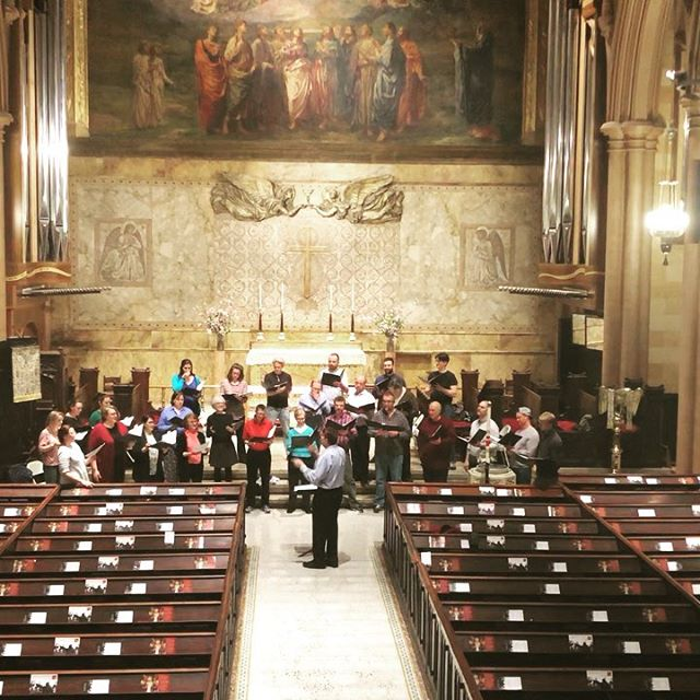 "Thank you so much to everyone who attended last night's concert Lassus & Byrd: Masters of the Renaissance. Here is a behind-the-scenes glimpse of the chorus rehearsing ""Sing Joyfully"" by William Byrd, which was last night's encore. Swipe right when you have finished watching one clip to watch the entire song.  We invite you to join us next season for an exciting series of concerts! Subscriptions are now on sale and you don't want to miss the early bird price! Subscribe today at http://www.voicesofascension.org  #choralmusic #choral #choir #classicalmusic #classical #byrd #renaissance #nychoral #rehearsal #nyc #ny"