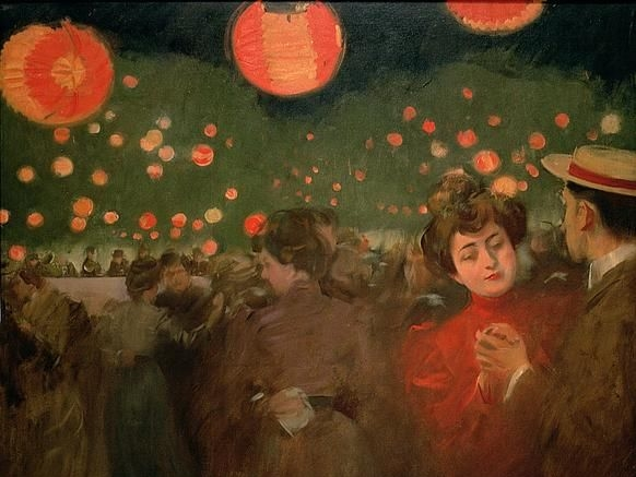 The Open Air Party. Ramon Casas i Carbó.
