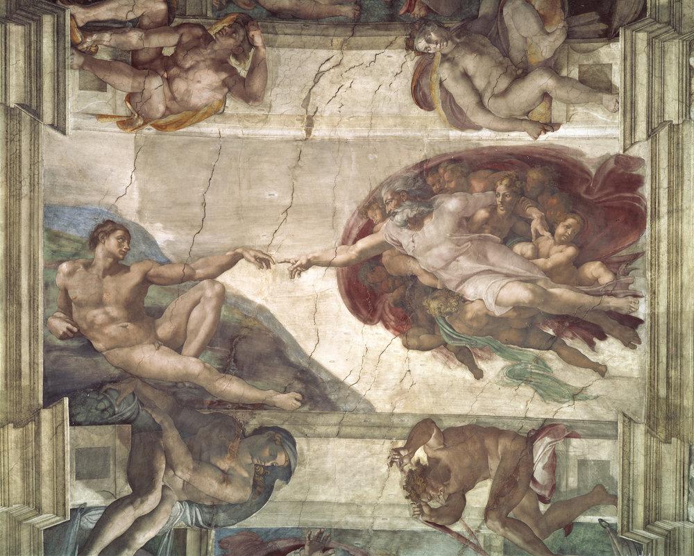 Sistine Chapel Ceiling. Michelangelo.