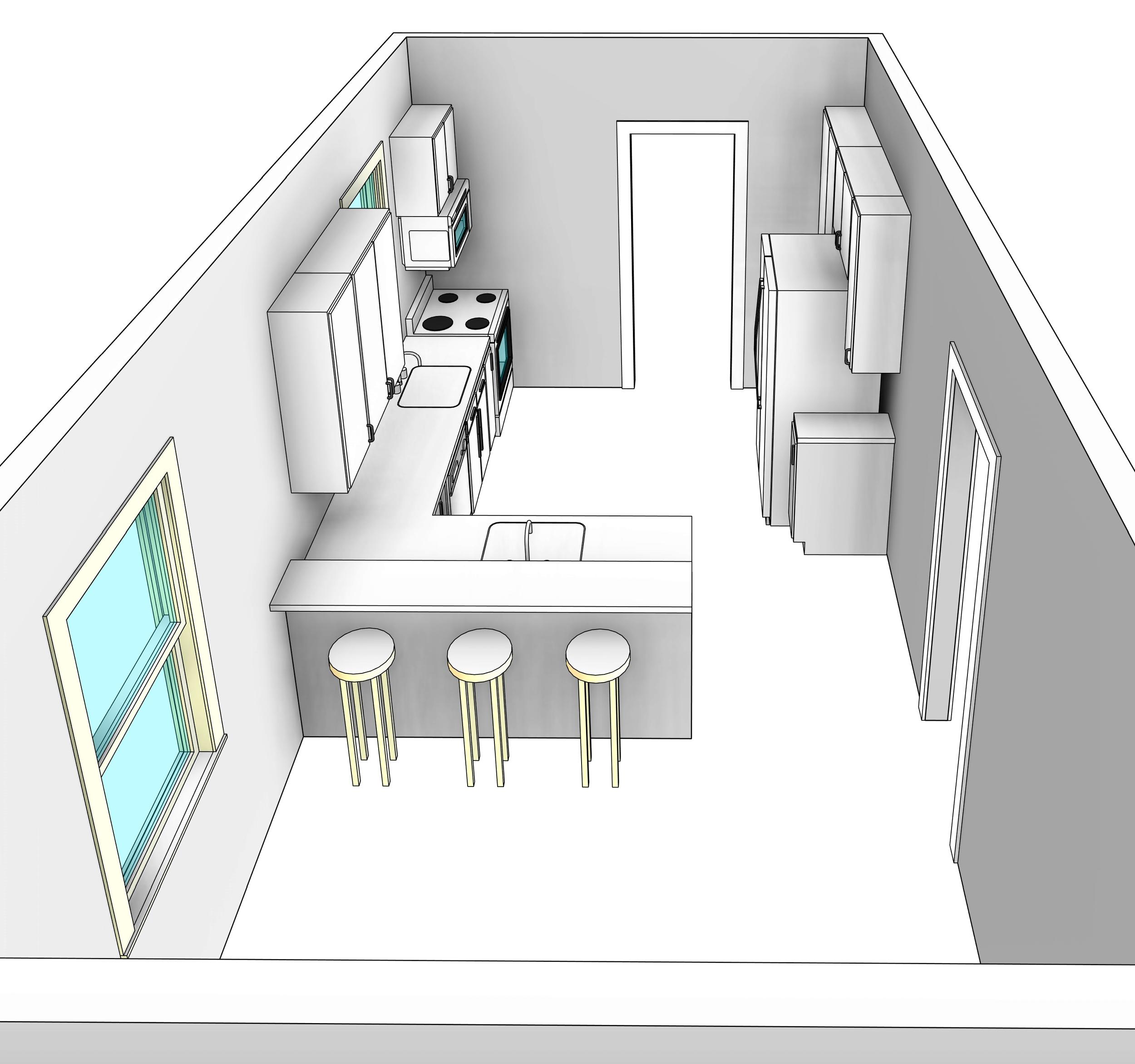 Design Option 3d View
