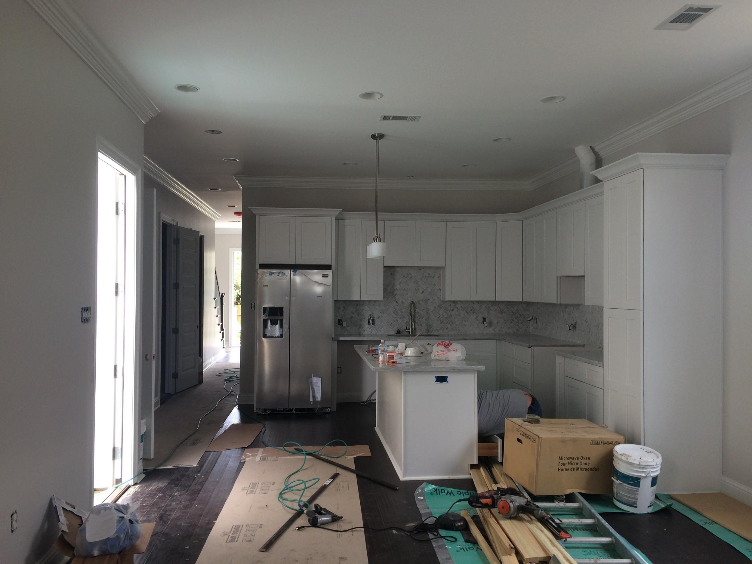 Conti - Kitchen in progress
