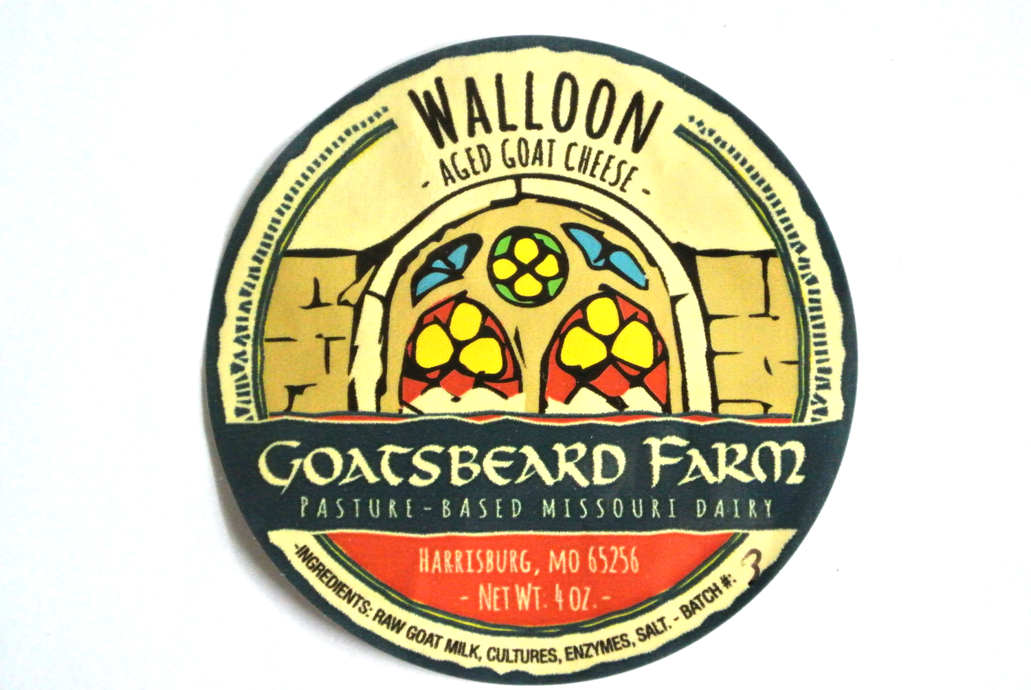 Look for this label on our aged Walloon cheese.