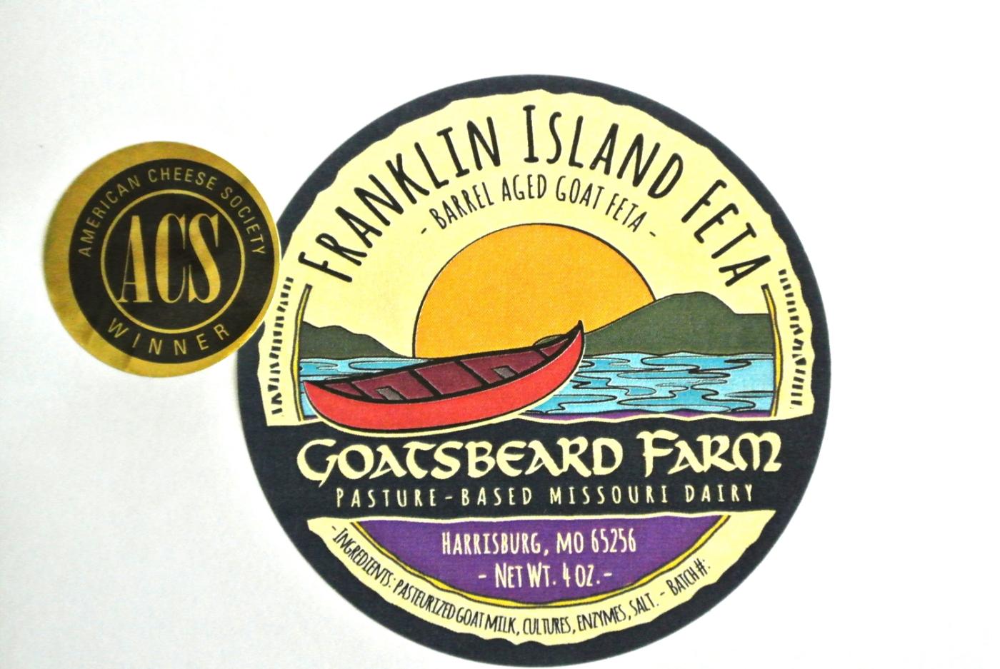 New Franklin Island Feta label.