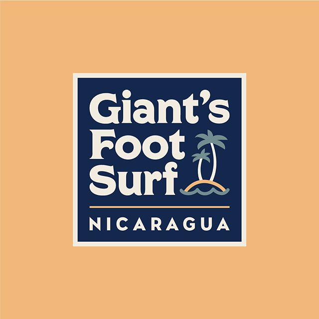 Recent unused logo submissions for Giant's Foot Surf in Nicaragua. DM if you need any logo or branding work!