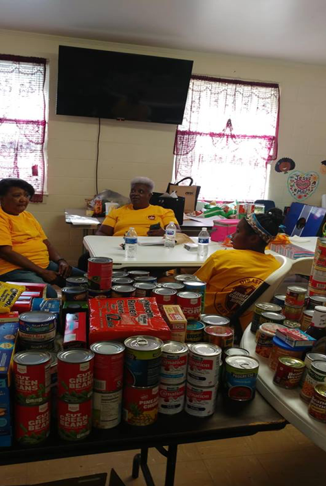Some of the donated goods that have poured in from our generous donors.